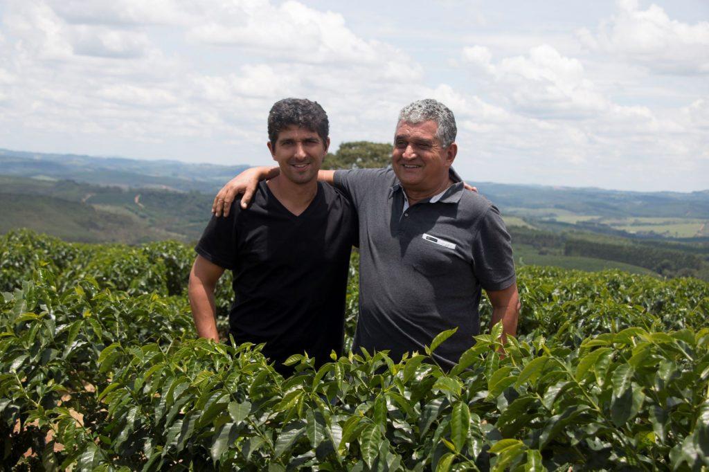 Joao Newton Teixeira and son Pedro Gabarra